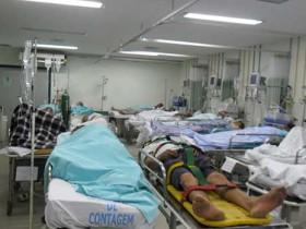 Falta de recursos em hospitais publicos